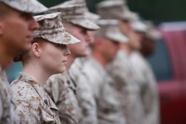 women- deployment military